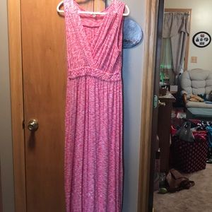 Women's sleeveless maxi dress size XL